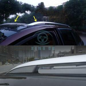 2pcs Aluminum Alloy Roof Rack 3m adhesive Installation For Ford Edge 2011 2014