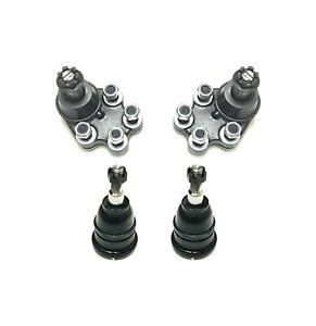 4 Piece Kit Lower Upper Ball Joints
