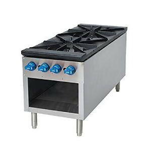 Comstock Castle 2csp18 18 Stock Pot Gas Range 180 000 220 000 Btu