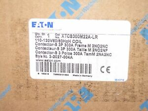 Eaton Cutler hammer Magnetic Contactor 120vac Coil 3 Phase 300 A Xtcs300m22a lr