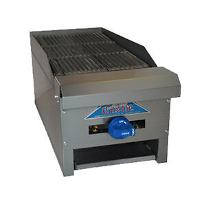 Comstock Castle Erb12 12 Countertop Gas Charbroiler With Inverted v Radiants