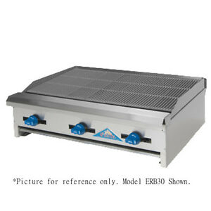 Comstock Castle Erb18 18 Countertop Gas Charbroiler With Inverted v Radiants