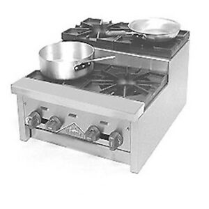 Comstock Castle Sufhp24 24 Countertop Step up Saute Gas Hotplate