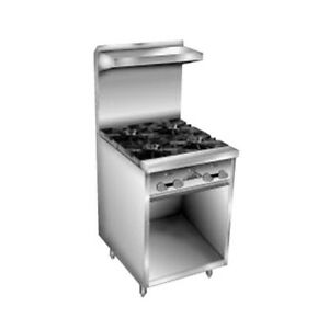 Comstock Castle F32 24 Gas Restaurant Range