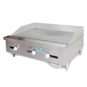 Comstock Castle Fhp30 30t 30 Countertop Gas Griddle With Thermostat Control