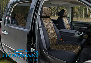 Coverking Camo Realtree Max 5 Custom Fit Front Seat Covers For Ford F 450 F 550