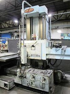 4 Toshiba Shibaura Bt 10b r1 Horizontal Boring Mill 28 Spindle Travel
