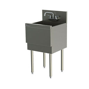 Perlick Ts181ca 18 Extra Capacity Underbar One Compartment Sink
