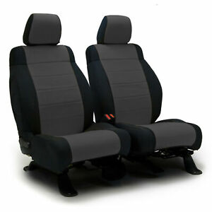 Toyota Tacoma Coverking Custom Tailored Front Rear Neosupreme Seat Covers