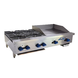 Comstock Castle Fhp48 2lb 24b 48 Charbroiler griddle overfired Cheesemelter