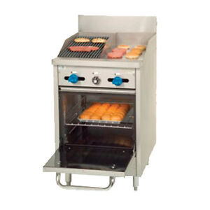 Comstock Castle F318 12 1rb 24 Gas Restaurant Range With Griddle