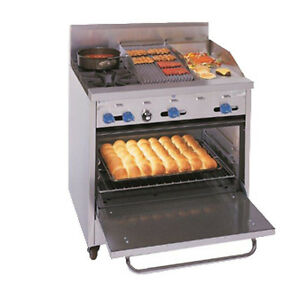 Comstock Castle F330 12 1rb 36 Gas Restaurant Range