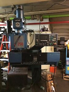 Lagunmatic 250 Cnc Mill With Dyanpath 10 Control