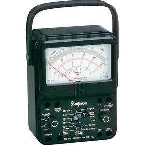 Simpson 260 8 Analog Multimeter Vom