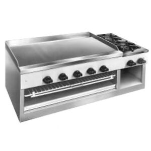 Comstock Castle 11201b 30 Countertop Gas Griddle cheesemelter hotplate