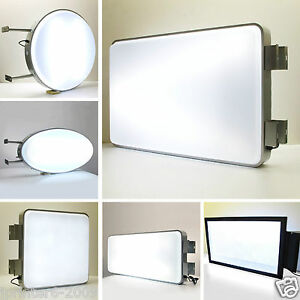Illuminated Projecting Light Box Shop Sign Water Proof