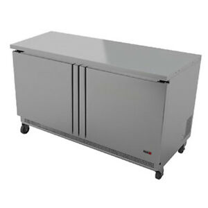 Fagor Fwr 48 48 Two Section Work Top Refrigerated Counter