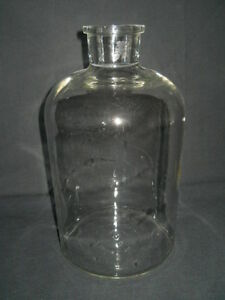 Corning Pyrex Glass 4000ml 4l Apothecary Storage Bottle With 43mm Id Neck