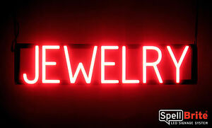 Spellbrite Ultra bright Jewelry Sign Neon led Sign neon Look Led Performance