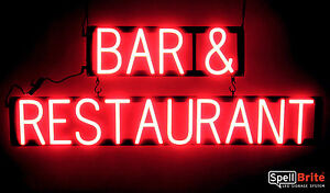 Spellbrite Ultra bright Bar Restaurant Sign Neon Look Led Performance