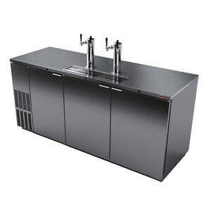 Fagor Fdd 79s 80 Stainless Steel Three Section Draft Beer Cooler