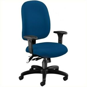 Ofm Ergonomic Task Computer Office Chair In Navy
