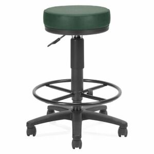 Ofm Faux Leather Adjustable Drafting Utilistool In Teal