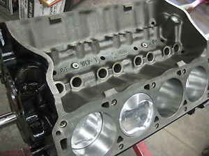 351w 408 4340 Steel Ford Non Roller Short Block Race Prepped 580 Hp Main Girdle