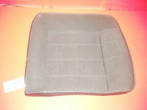 Mustang Lx Black Cloth Velour Rear Back Seat Upper Cushion Lh Left Driver 791