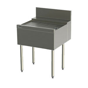 Perlick Tsf20 20 Underbar Drainboard With Embossed Top
