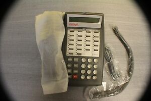 Avaya Partner 18d Phone For Lucent Acs Telephone System fully Refurbished Gray
