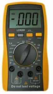 Brand New Gme Lcr200 Digital Lcr Inductance Capacitance Resistance Meter