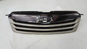 2010 2011 2012 Subaru Outback Front Bumper Grille Chrome silver Aftermarket