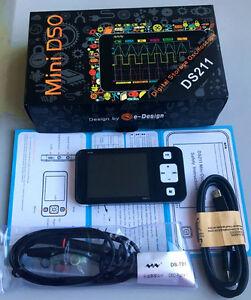 Portable Mini Nano Arm Dso211 Pocket sized Handheld Digital Storage Oscilloscope
