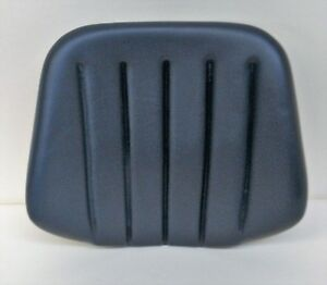 Black Vinyl Backrest For Ford New Holland John Deere Massey Ferguson Tractors