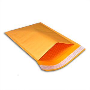 250 5 X 10 00 Kraft Bubble Mailers Padded Envelopes Mailing Bags Shipping