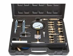 Master Fuel Injection Pump Pressure Test Kit Cise Cis Metric Sae Gauge