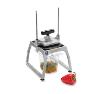 Vollrath 55001 Fruit Vegetable Table Top Manual Dicer 3 8 Dice