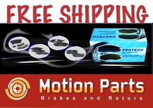 2003 2006 Ford Expedition Front Ceramic Brake Pads Pcd934
