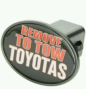 Receiver Hitch Cover Remove To Tow Toyotas New