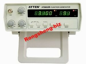 1pc New Atten At8602b Digital Function Signal Generator 0 2mhz 2mhz Seven Ranges