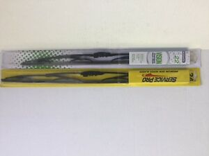 Pair 2 Windshield Wiper Blades J hook Only 24 22 Inch All Season