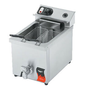Vollrath 40709 Countertop Electric Single Full Pot Fryer