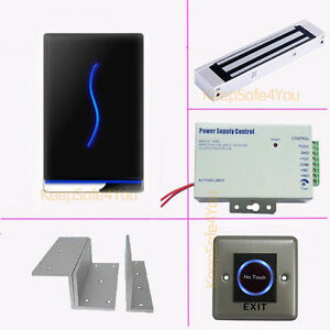 Time Clock Attendance Access Control Controller Rfid Reader Kits Magnetic Lock