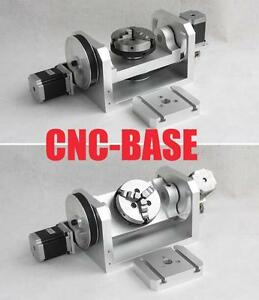 Rotary Axis 4 Axis 5th Axis A Axis For Cnc Router Cnc Engraving Machine