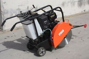 18 Concrete Cut off Floor Saw 14hp 420cc Gas Power Engine Walk Behind Epa carb