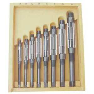 Adjustable Hand Reamer Set hss 8 Pcs Westward 4lgu3
