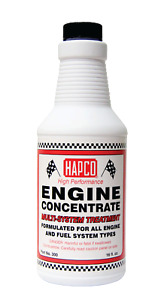 Hapco Products Engine Concentrate Fuel Treatment Multi System Additive