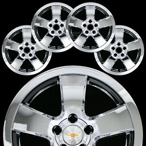 4 Fits Chevrolet Cruze Lt 2011 2015 Chrome 16 Wheel Skins Hub Caps Rim Covers