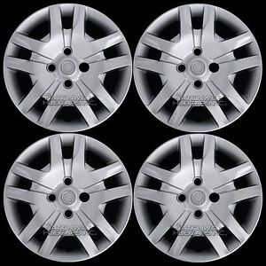 4 For 2007 2012 Nissan Sentra Bolt On 16 Wheel Covers Hub Caps Full Rim Skins